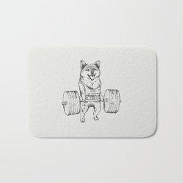 Shiba Inu Lift Bath Mat