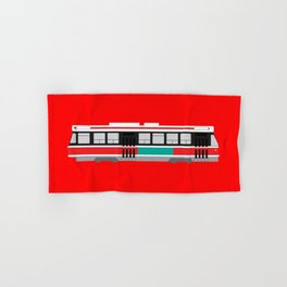 Toronto TTC Streetcar Hand & Bath Towel