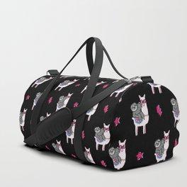 Sloth Llama Music Duffle Bag