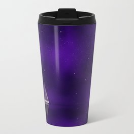 Purple Ship Travel Mug