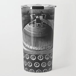 Vintage Typewriter - Before Email Travel Mug