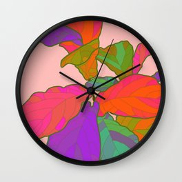 Funky Fiddle Wall Clock