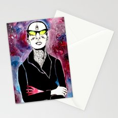space bitch Stationery Cards