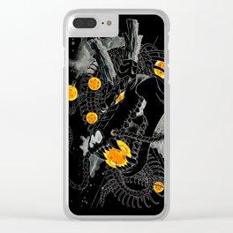 Death Crew Black Edition - Shenron Clear iPhone Case