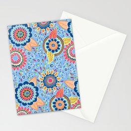 Henna Flowers Stationery Cards