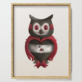 Xavier the Owl Serving Tray