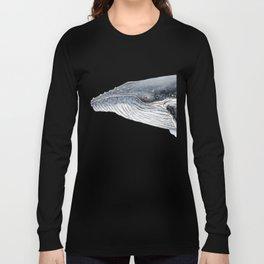 Humpback whale portrait Long Sleeve T-shirt