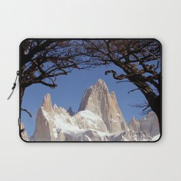 Fitz Roy Mountain Landscape (Patagonia, South America) Laptop Sleeve