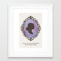 buffy Framed Art Prints featuring Buffy by JadeJonesArt
