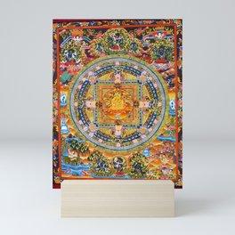 Mandala Buddhist 2 Mini Art Print