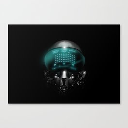 Space Invasion Canvas Print