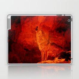 Fire Wolf Laptop & iPad Skin