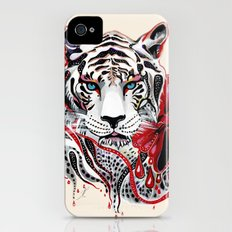 White Tiger Slim Case iPhone (4, 4s)