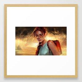 Lara Croft: Tomb Raider Framed Art Print