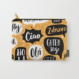 Global Greetings Carry-All Pouch