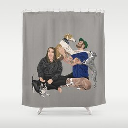 Happy Family Shower Curtain