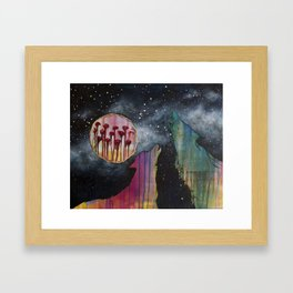 Destiny Revealing Framed Art Print