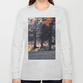 Fall Sunset in the Northwoods Long Sleeve T-shirt