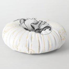 Desert Heart Inktober :: More Magick Floor Pillow