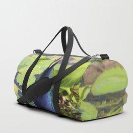 Purple Gallinute Duffle Bag