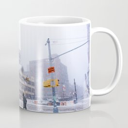 Snowy NYC Meatpacking District Coffee Mug