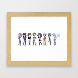 Mass Effect - The Girls Framed Art Print