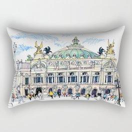 Palais Garnier, Paris Rectangular Pillow