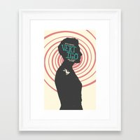 vertigo Framed Art Prints featuring Vertigo by Bill Pyle