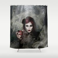 witch Shower Curtains featuring WITCH by CABINET
