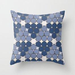 Dodecagon Constellation Throw Pillow