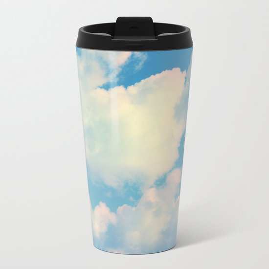 The Colour of Clouds 04 Metal Travel Mug