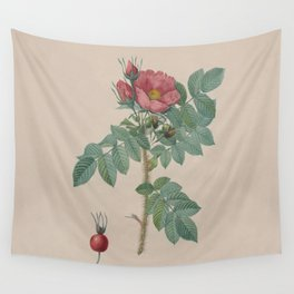 Rosa JP Redoute Wall Tapestry