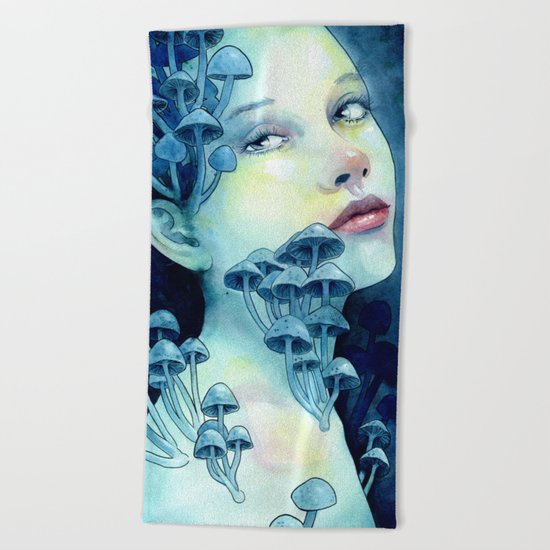 Beauty in the Breakdown Beach Towel