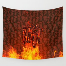 Very Hot! Wall Tapestry