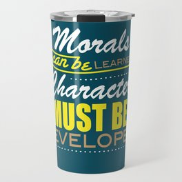 Quote Poster 5 Travel Mug