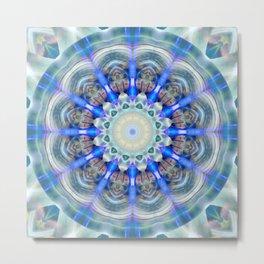 Mandala element air Metal Print