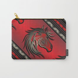 Horse Nation (Red) Carry-All Pouch