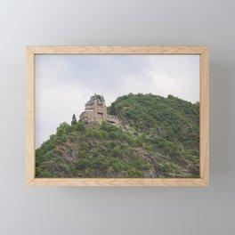 Rheinfels Castle above Sankt Goar Framed Mini Art Print