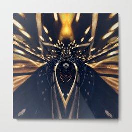 Geometric Art - Authority Metal Print