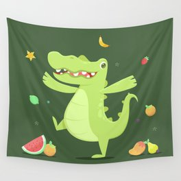 Alligator Wall Tapestry