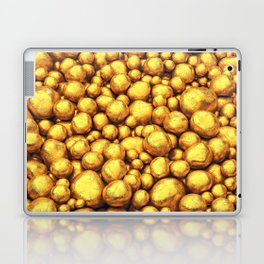 Raw gold Laptop & iPad Skin