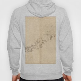 The Atlantic Neptune: Charts for the Use of the Royal Navy (1780) - Long Island Sound Hoody