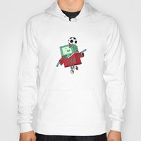 bmo Hoodies featuring BMO Soccer by AbigailC