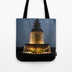 fountain lights Tote Bag