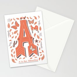 A is for Abuelita Stationery Cards