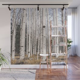 Trees of Reason - Birch Forest Wall Mural