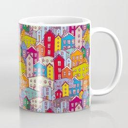 Cityscape Sketch Coffee Mug