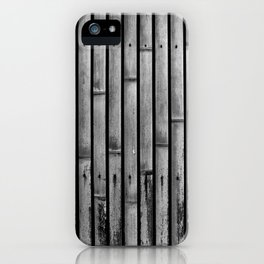 Kyoto Textures I: Split Bamboo iPhone Case