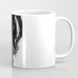D. in Black Coffee Mug