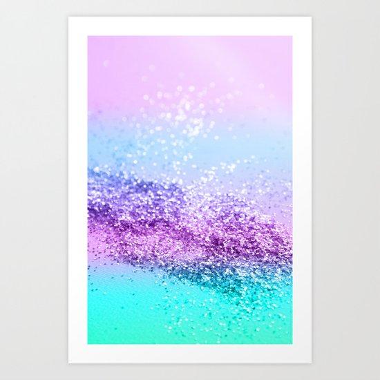 Unicorn Girls Glitter #14 #shiny #decor #art #society6 by anitabellajantz